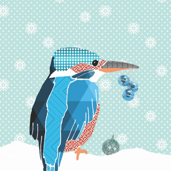 mieske-illustraties_ijsvogel_kerstkaart